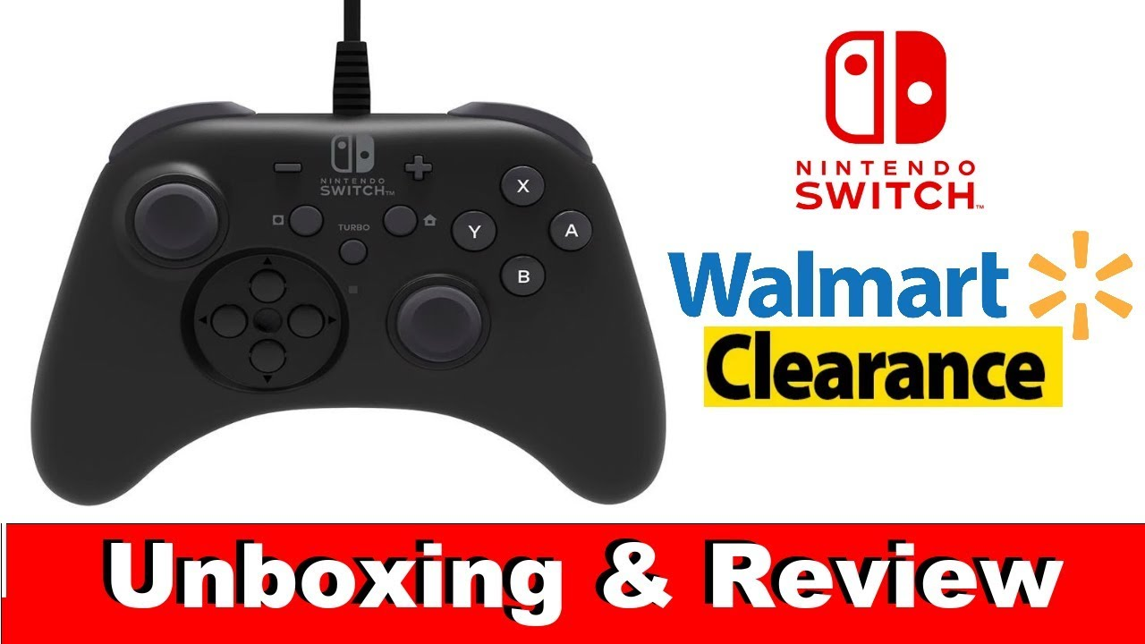 Nintendo Switch HORIpad Pro Controller: (Unboxing & Review