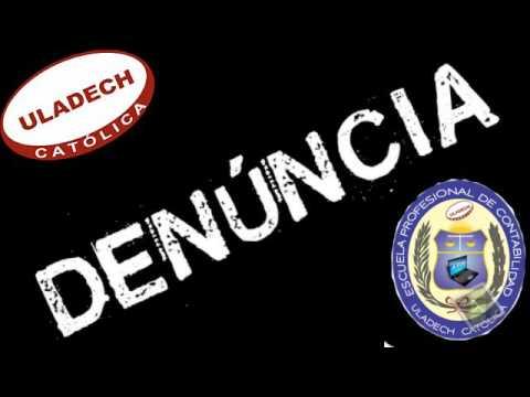 DENUNCIA DE ULADECH DE CHIMBOTE TRÁFICO DE TESIS EN LA ESCUELA DE CONTABILIDAD 2016