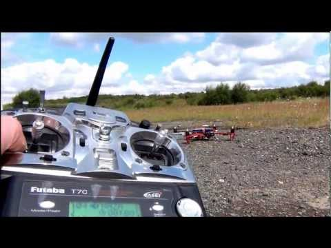 DJI NAZA GPS Return To Home & Position Hold Test