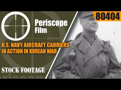 U.S. NAVY  AIRCRAFT CARRIERS IN ACTION IN KOREAN WAR   USS VALLEY FORGE 80404