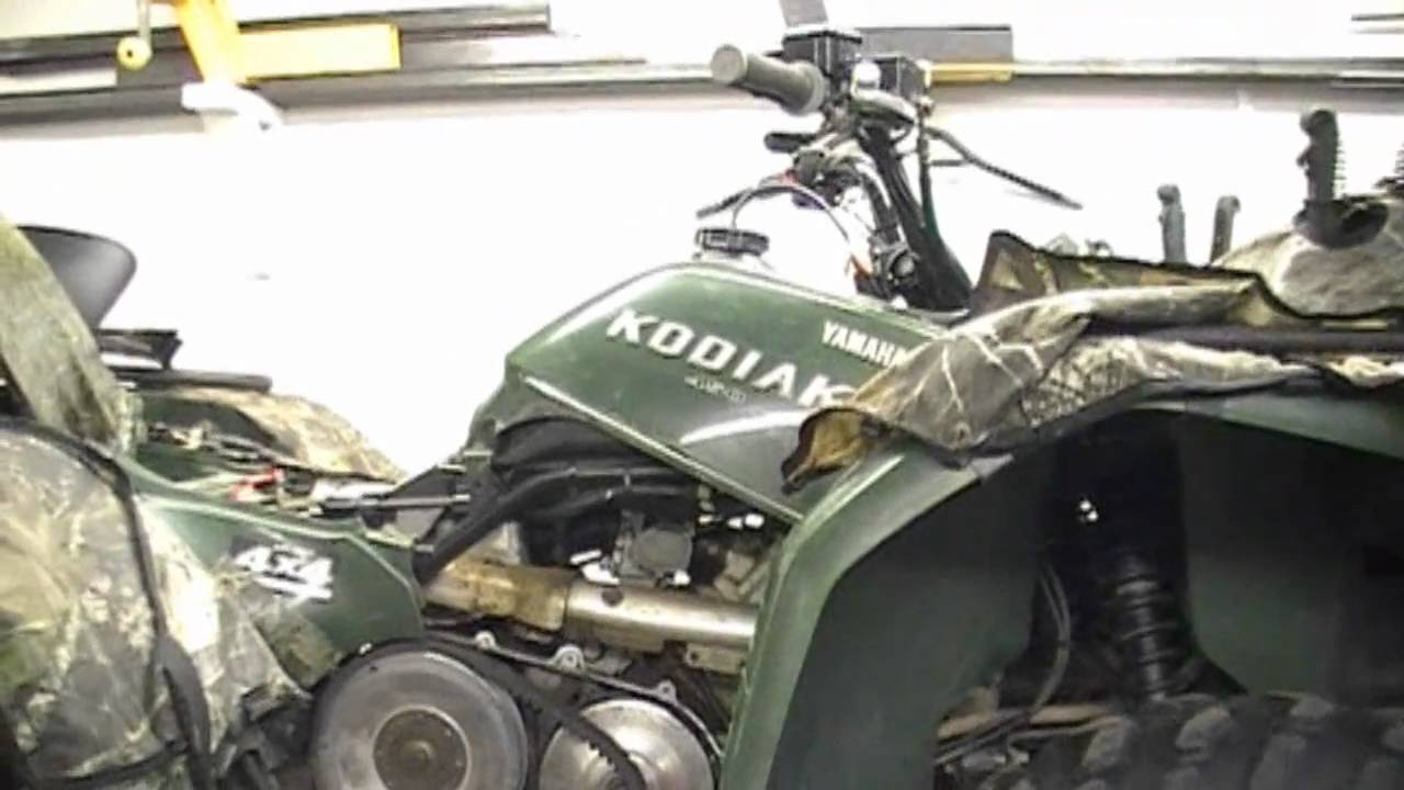 maxresdefault yamaha kodiak 450 youtube 2005 yamaha kodiak 450 wiring diagram at nearapp.co