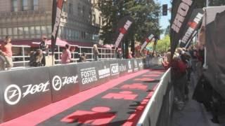 Holly Lawrence wins the Ironman Santa Rosa Triathlon