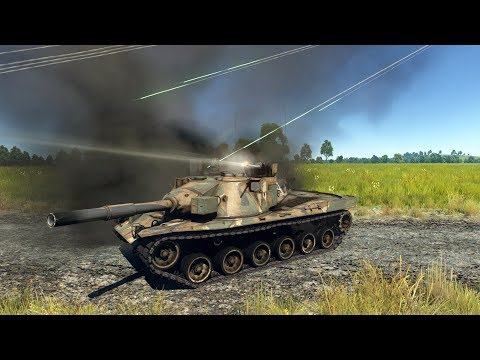 War Thunder MBT-70 with or without the autocannon