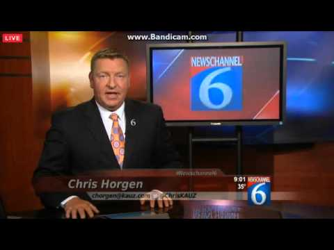 KAUZ-DT2 NewsChannel 6 at 9 on Texoma's CW Open 1/20/2016 - YouTube.com