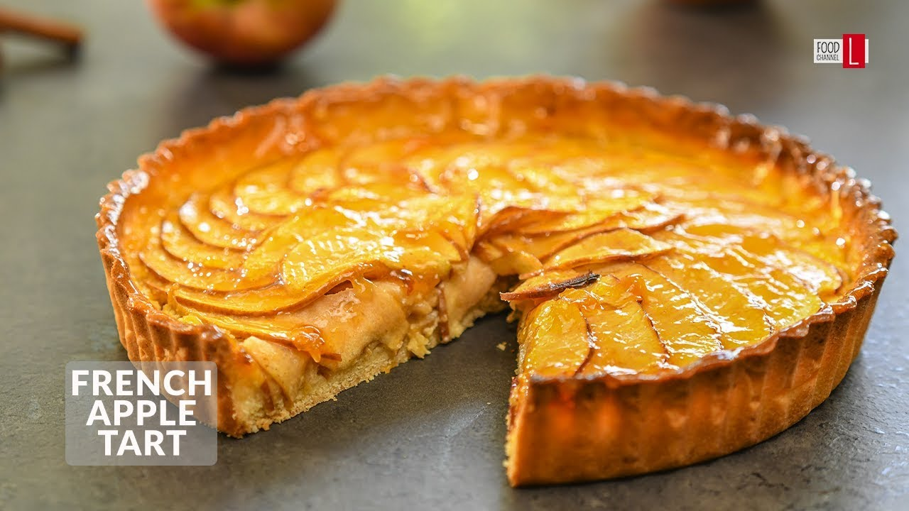 How To Make Classic French Apple Tart Food Channel L Recipes Youtube