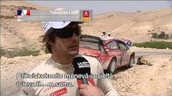 Conrad Rautenbach & Sebastien Loeb - Jordan 2008 - Aftermath