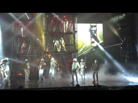 Beat it @ Michael Jackson One Cirque Du Soleil 5-19-2015