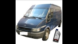 Заміна масла у Ford Transit