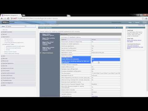 deploying applications in WebSphere Application Server v 8 5 on windows  (WebSphere Jungle)
