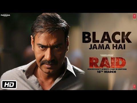 Black Jama Hai Video Song | RAID | Ajay Devgn | Ileana D'Cruz | Sukhwinder Singh | T-Series