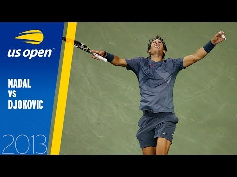 Rafael Nadal Vs Novak Djokovic | US Open 2013 Final | Full Match