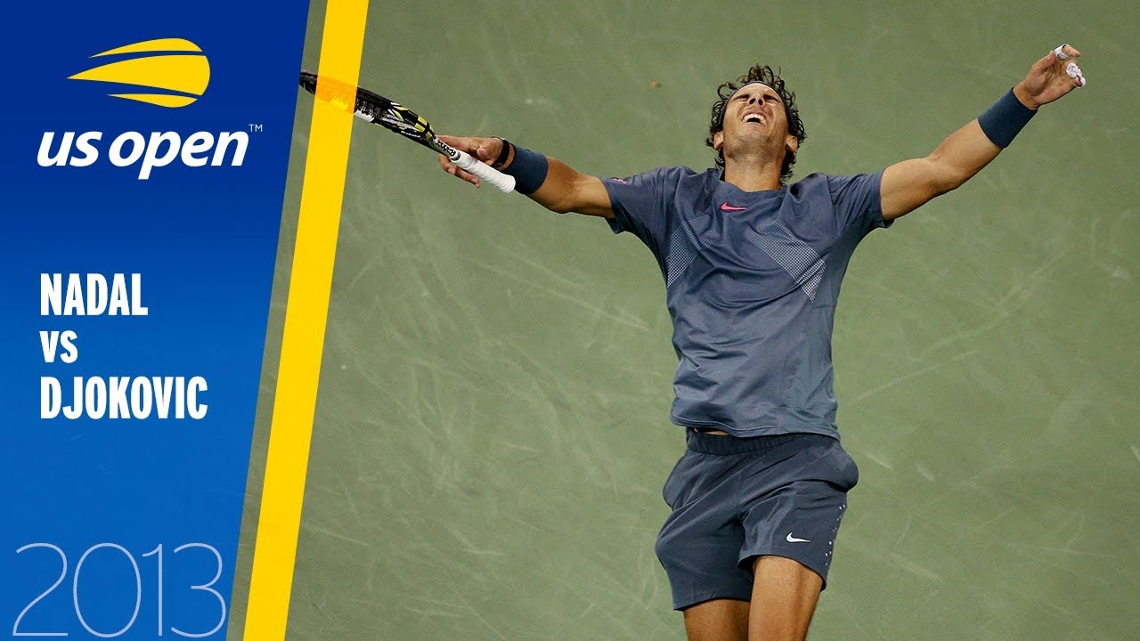 Rafael Nadal Vs Novak Djokovic Full Match Us Open 2013 Final Youtube