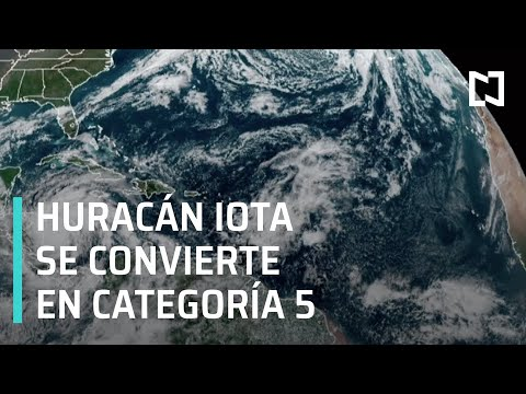 Huracán Iota se a categoría 5 - Expreso de la Mañana