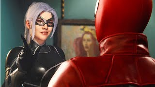 Spider-Man Meets Black Cat -The Heist DLC Black Cat- Spider-Man PS4 (Insomniac VideoGame)