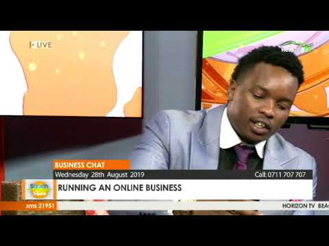 Running An Online Business _ Live Sabah Show | Only On Horizontv Kenya _ #BusinessChat
