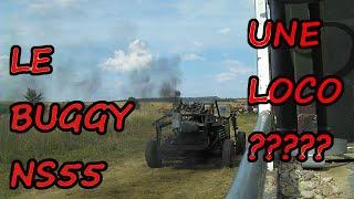 SA FUME NOIR!!!!!  Démarrage et Test de l'échappement cheminée du  Buggy 😂(parti 2)