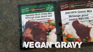 No Oil Vegan Gravy Packets