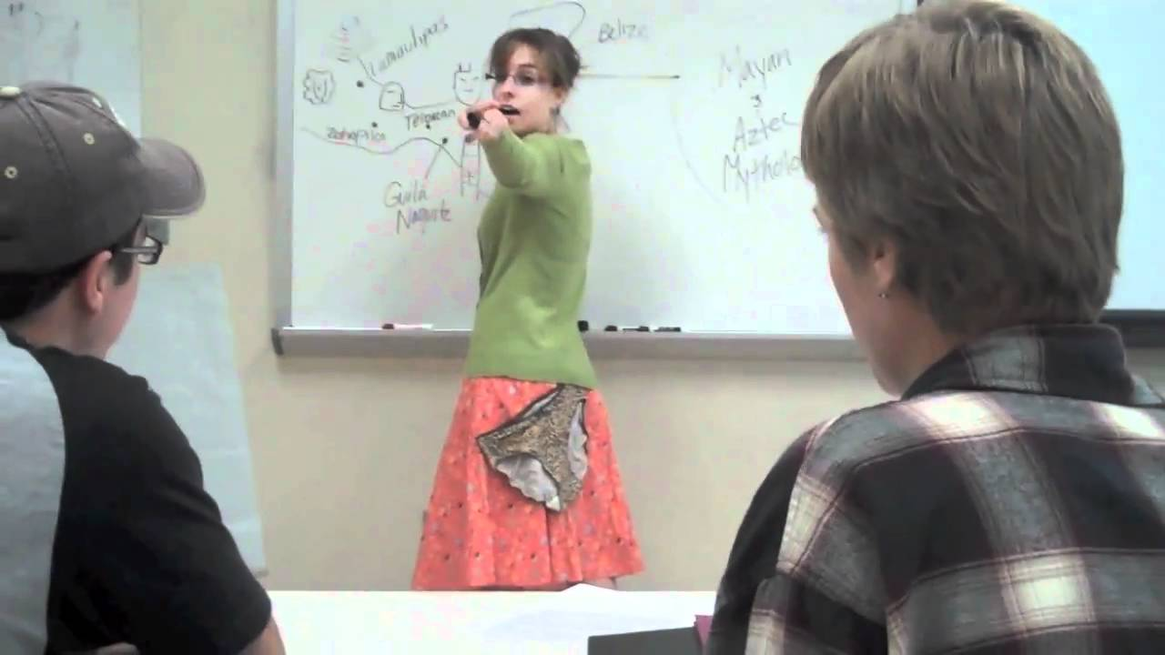 Prof Teaches W Panties Stuck To Her - Youtube-6671