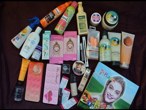 Haul: 7th Heaven,DM,MakeupShop,Sephora,The Body Shop+More