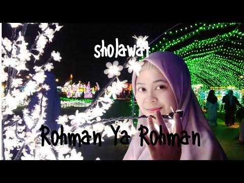 Sholawat Rohman Ya Rohman Cover By Yantiaon