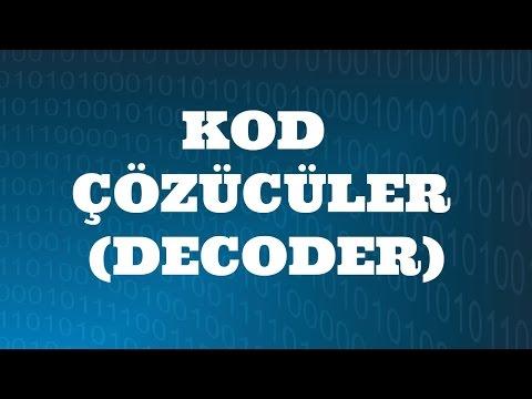 SAYISAL ELEKTRONİK DERSLERİ: Kod Çözücüler (Decoder)
