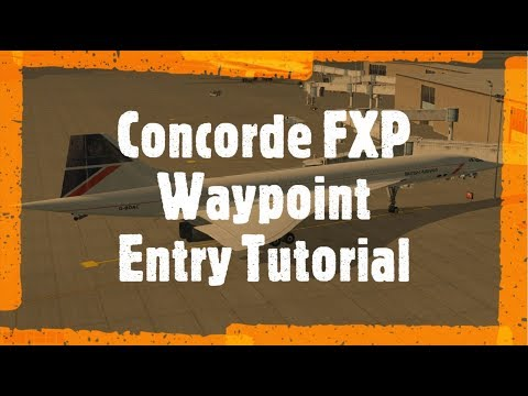 Concorde FXP - Waypoint Entry and Garmin 1000 - X Plane 11 - Самые