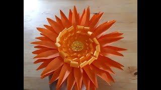 Цветы из бумаги своими руками: легко и быстро. Подарки и поделки