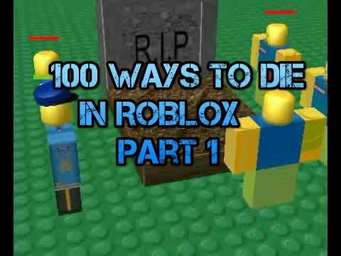 Roblox 100 ways to die
