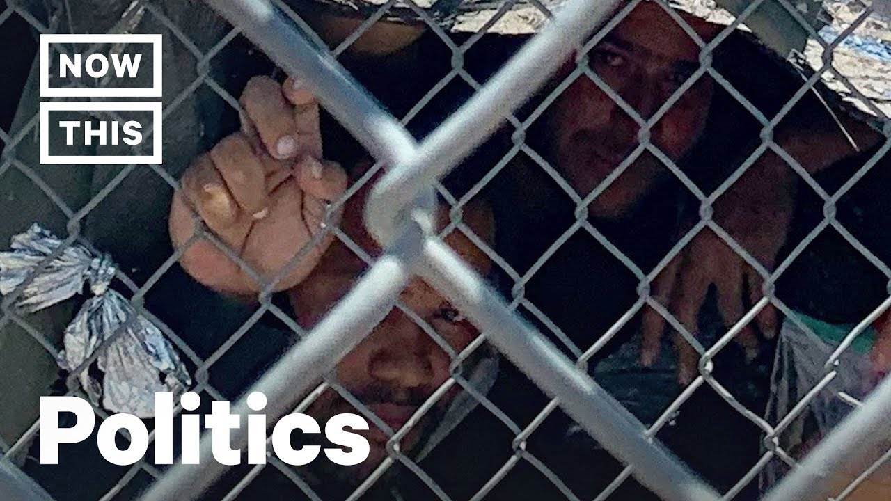 Migrants Held In Dog Pound