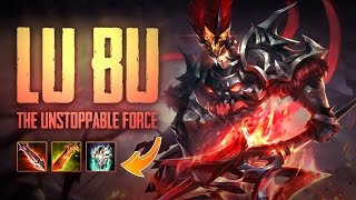 Strike of Kings: THE UNSTOPPABLE FORCE!! Lu Bu [PA Bot] Gameplay
