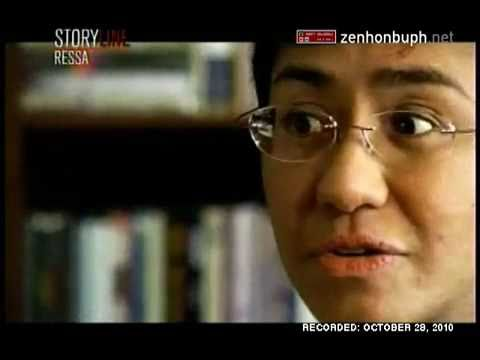 ABS-CBN News Channel STORYLINE - Ressa (October 28, 2010) Part 2 of 3