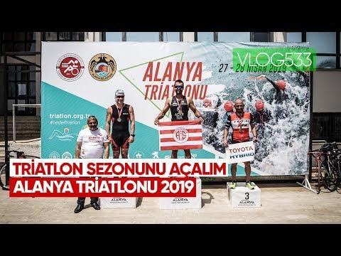 Alanya Triatlonunda  şampiyonlar Sahnede | Asla Durma Vlog533