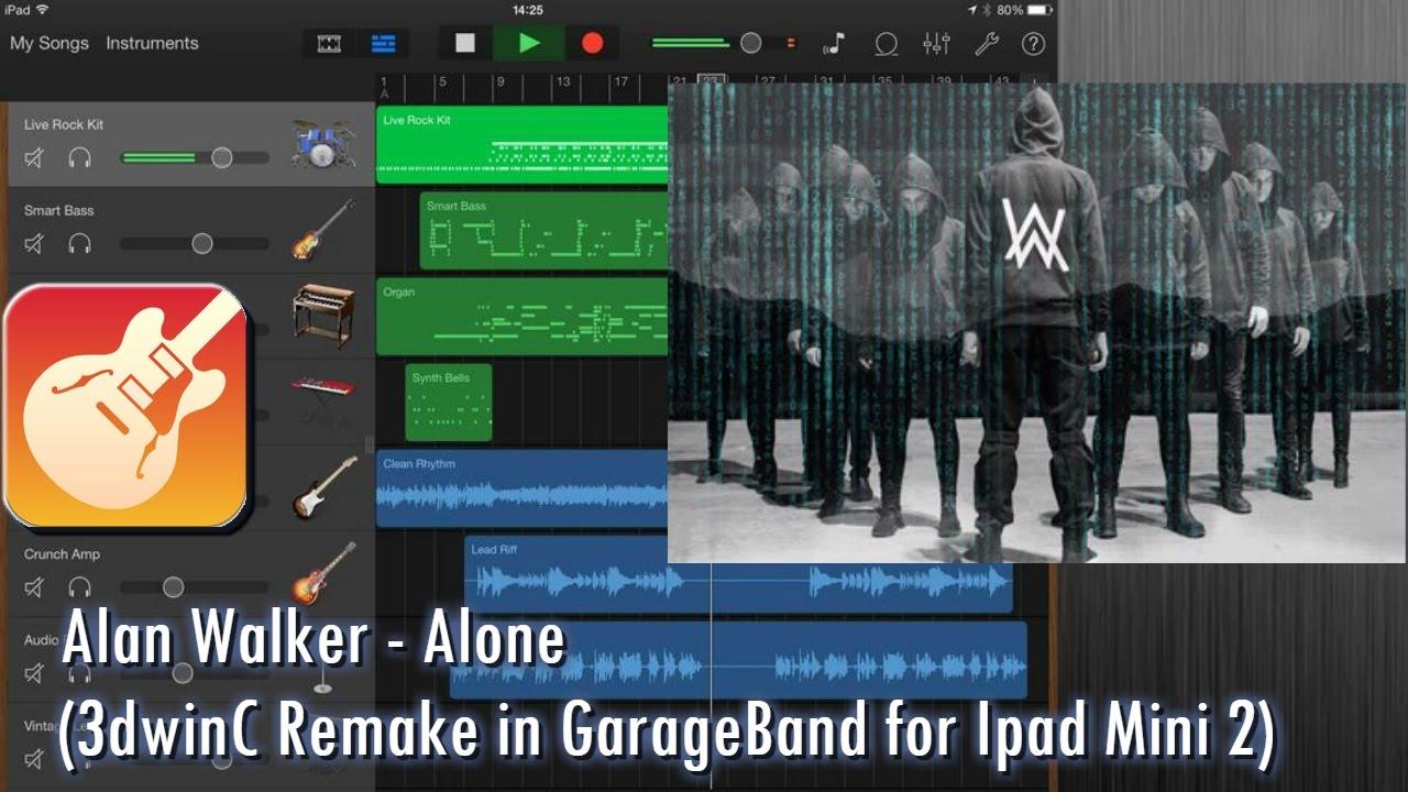 how to use garageband on ipad mini