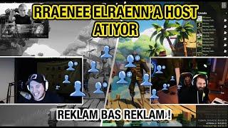 RRAENEE ELRAENN ' A HΟST ATIYOR ! CANLI YAYINDA KOMİK ANLAR...