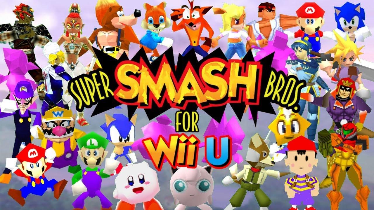 super smash bros apk n64