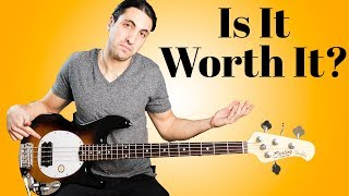 An affordable Musicman Stingray Bass? - Sterling by Musicman Ray24 Bass Review