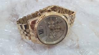 посылка с Ebay! Наручные часы Michael kors MK8281 полный обзор. Часть 2