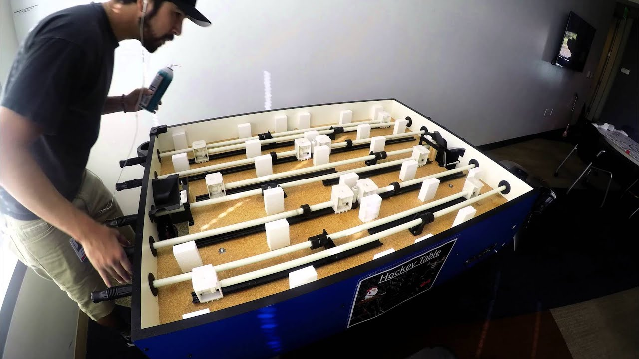 maxresdefault bubble hockey fix youtube carrom bubble hockey wiring diagram at bakdesigns.co