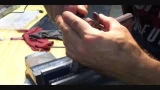 harp custom 1911 pistol beavertail frame slide contouring