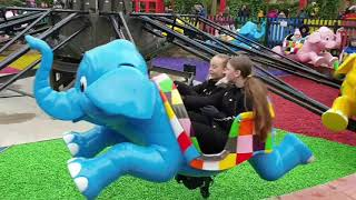 Adventure Point 2020 New Chessington World of Adventures Elmers Flying Jumbos, Adventure Tree,Trucks