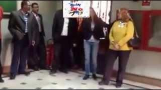 وقفة امام مكتب درية شرف الدين اللى بسببها اتحول الاعلاميين للتحقيق - ماسبيرو