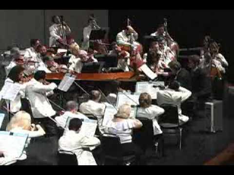 Enrique Batiz y la Orquesta Sinfónica del Estado de México