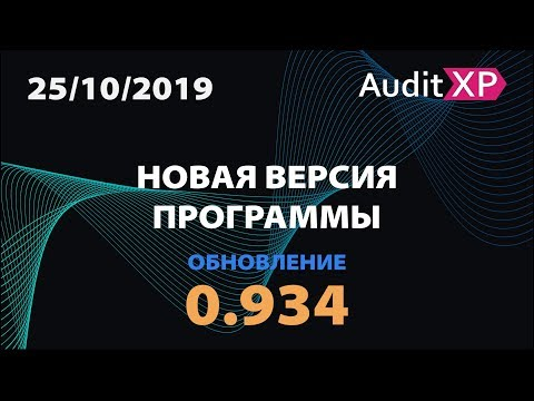 AuditXP Professional версия 0.934