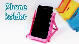 DIY crafts: PHONE HOLDER (beach chair) from ice cream sticks - Innova Crafts