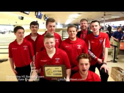 Watch Neshaminy 2015 PA State Boy's HS Bowling Champions-Interview