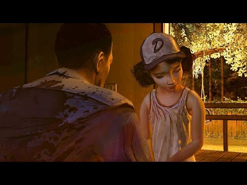 Lee Everett Meets Clementine (The Walking Dead | Telltale Games)