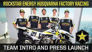 Rockstar Energy Husqvarna Factory Racing Team Intro and...