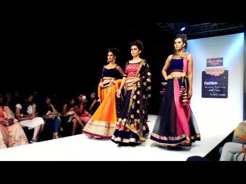 Bangalore fashion week 3rd Aug 2017 designer Seema Singh