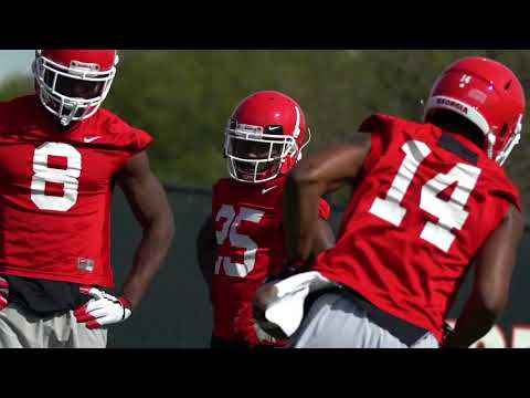 UGA Practice Highlights - 2018 Spring Practice Day One