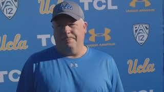 UCLA Football Media Availability - Coach Chip Kelly - 03.16.19